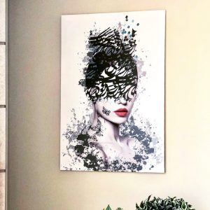 تابلو دیواری مدل زیبایی شناسی , دیجیتال آرت , تابلو دیجیتال آرت , جدیدترین مدل تابلو دیواری , تابلو دکوراتیو , فروش تابلو مدرن برجسته , سایت سوران , تابلو دیواری مدل شیک