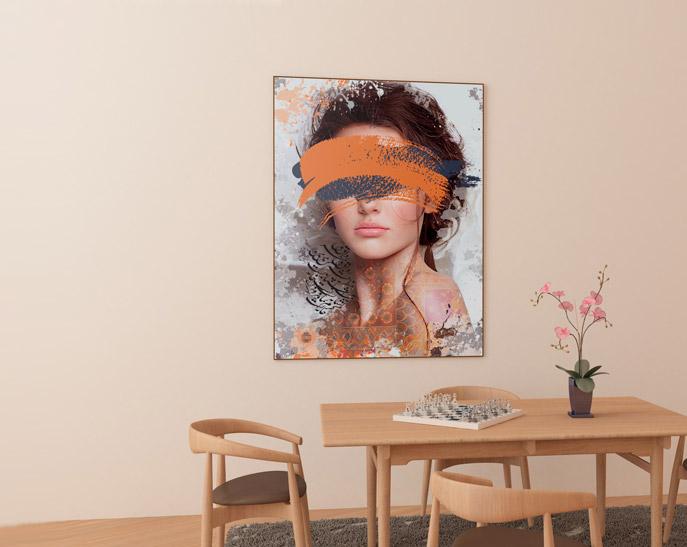 انواع تابلو نقاشی و تابلو دیواری دیجیتال آرت