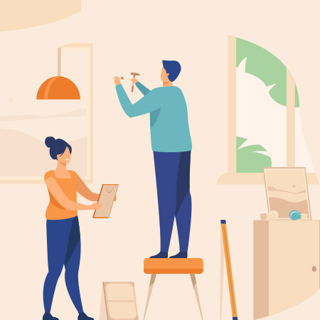 5 نکته اساسی و مهم در نصب تابلو نقاشی
